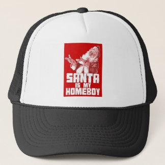 santa trucker hat