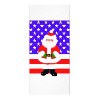Santa USA Full Color Rack Card