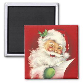 Santa Vintage Magnet