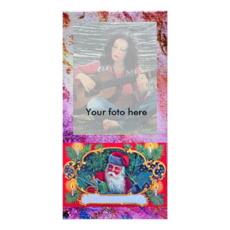 SANTA VINTAGE PHOTO CARD