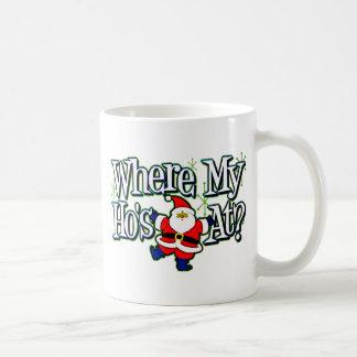 Santa Where my Ho's at.png Mug