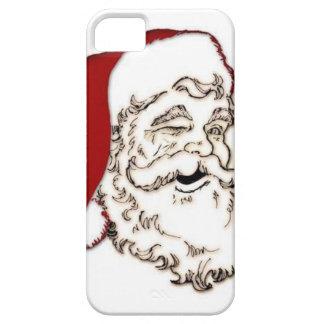 Santa wink iphone 5/5s case