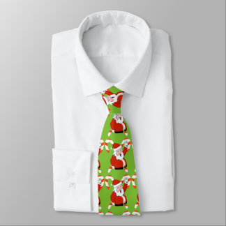 Santa with Candy Cane Tie