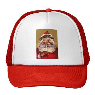 Santa with Feather Cap