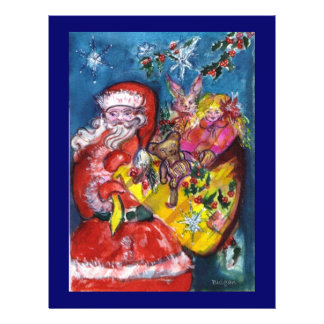 SANTA WITH GIFTS 21.5 CM X 28 CM FLYER