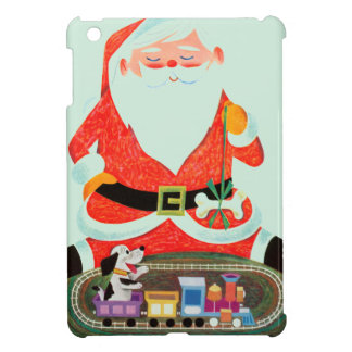 Santa with Train iPad Mini Cover