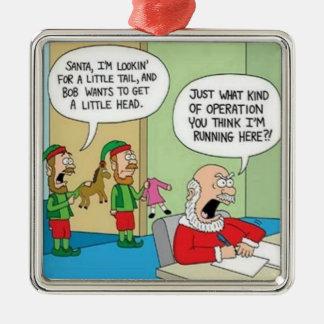 Santa Workshop Operation Christmas Ornament