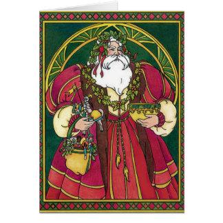 Santa Yule Card