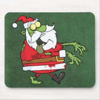 Santa Zombie Mouse Mat