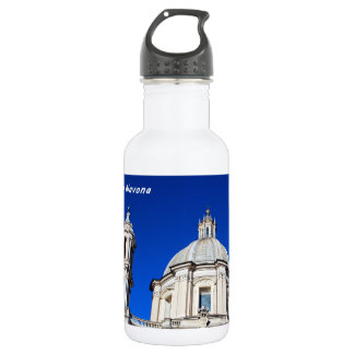 Santagnese in Agone Church in Piazza Navona, Rome 532 Ml Water Bottle