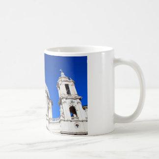 Santagnese in Agone Church in Piazza Navona, Rome Basic White Mug