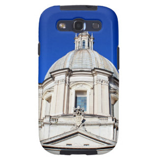 Santagnese in Agone Church in Piazza Navona, Rome Galaxy S3 Cases