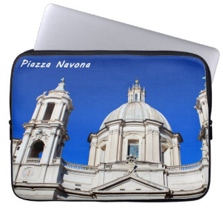 Santagnese in Agone Church in Piazza Navona, Rome Computer Sleeves