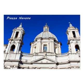 Santagnese in Agone Church in Piazza Navona, Rome Pack Of Chubby Business Cards