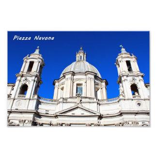 Santagnese in Agone Church in Piazza Navona, Rome Photo