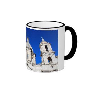 Santagnese in Agone Church in Piazza Navona, Rome Ringer Mug