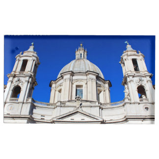 Santagnese in Agone Church in Piazza Navona, Rome Table Card Holder