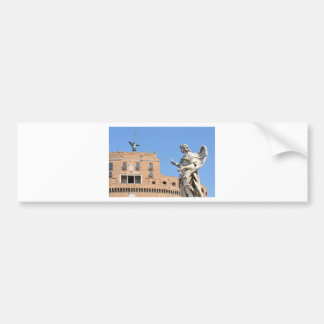 Sant'Angelo Castle in Rome, Italy Bumper Sticker