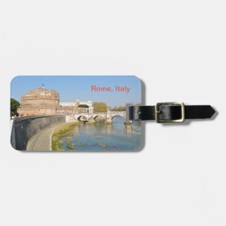 Sant'Angelo Castle in Rome, Italy Luggage Tag