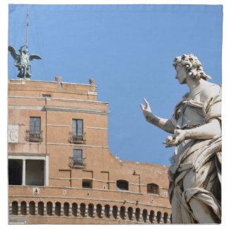 Sant'Angelo Castle in Rome, Italy Napkin