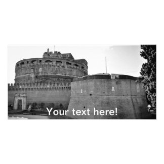 Sant'Angelo castle Personalised Photo Card