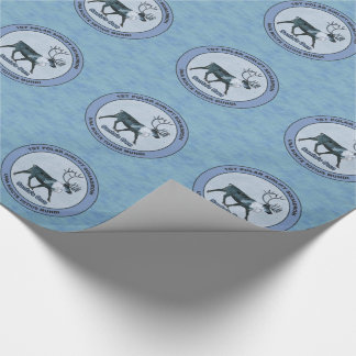 Santa's 1st Polar Airlift Sqdn - Subdued Wrapping Paper