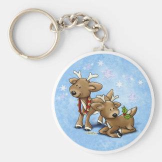 Santa's Baby Reindeer Key Ring