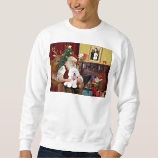 Santa's Bichon Frise (#1) Sweatshirt