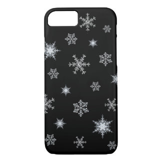 Santa's Black iPhone Case