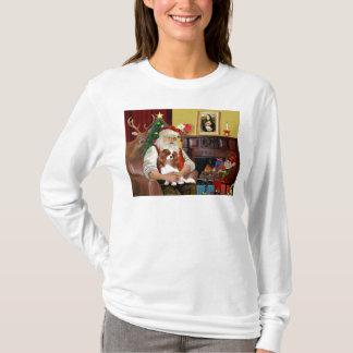 Santa's Blenheim Cavalier T-Shirt