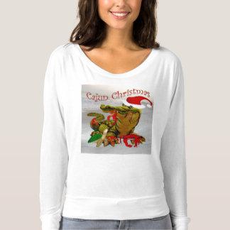 santas cajun christmas top