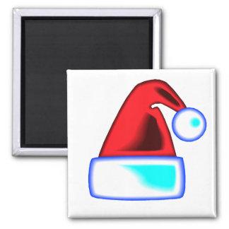 Santa's Cap Square Magnet