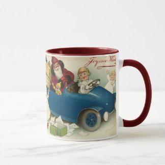 Santa's Car Mug
