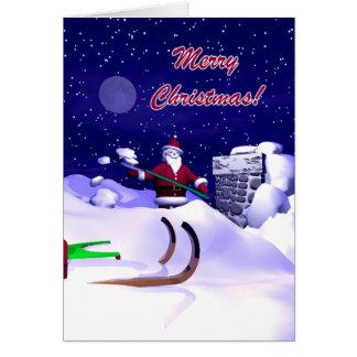 Santa's Christmas Delay Card