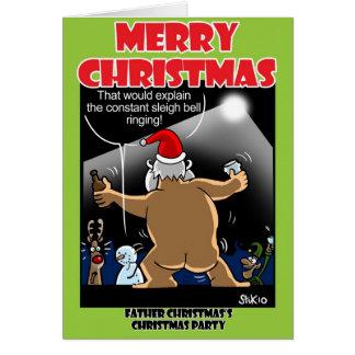 Santa's Christmas Party! Greeting Card