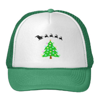 Santa's Christmas Ride Cap