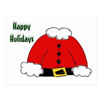 Santa's Coat Post Card