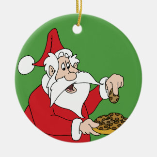 Santa's Cookies Christmas Ornament