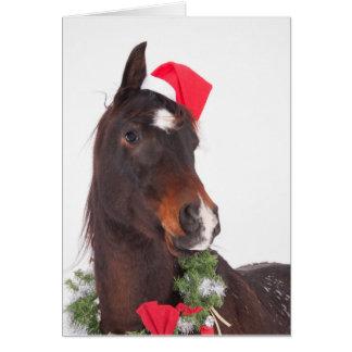 Santa's Cutest Helper Greeting Card