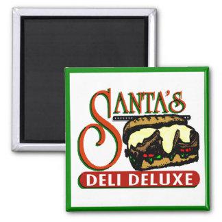 Santa's Deli Deluxe Magnet