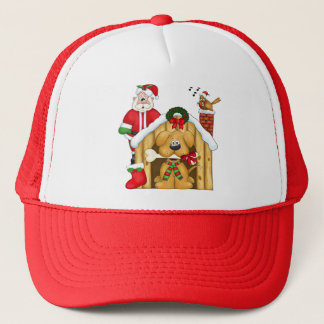 Santa's Dog  House - Hat