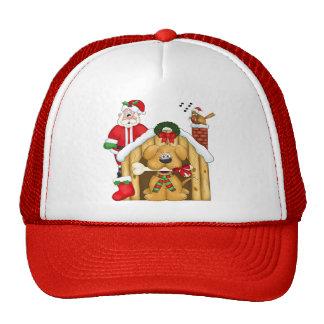 Santa's Dog  House - Hat
