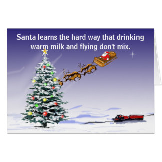 Santa's Driving Card