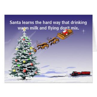Santa's Driving Card (large)