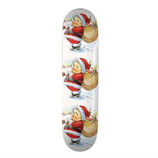 Santas Elf with Toys Skate Decks
