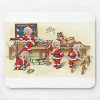 Santa's Elves Mouse Pad