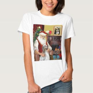 Santa's English Setter Tee Shirt