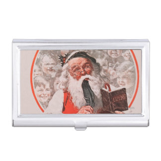Santa's Expenses Business Card Holder