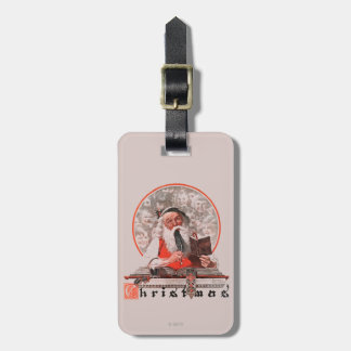 Santa's Expenses Luggage Tag
