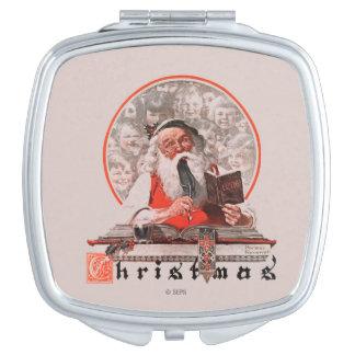 Santa's Expenses Travel Mirrors